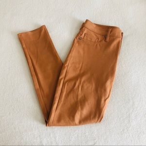Women's Calvin Klein burnt orange jeans